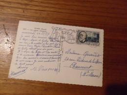 Cartolina FRANCIA    ANNULLO  UZES 1937 - Mechanical Postmarks (Advertisement)