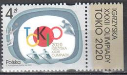 Poland 2021 - Summer Olympic Games 2020 - Tokyo -Mi.5313 -  MNH(**) - Ongebruikt