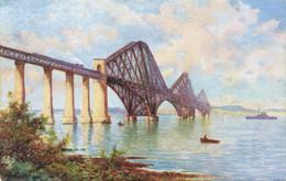 R583267 Edinburgh. The Forth Bridge. Tuck. Oilette. Postcard No. 3020 - Mondo