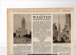 25/07/ L//  WAASTEN 1935  7 AFBEELDINGEN - Unclassified