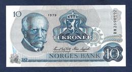 Norway 10 Kroner 1979 P36c UNC - Norway