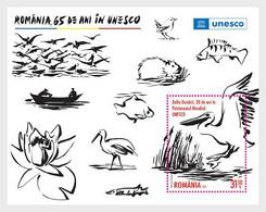 Romania Rumänien Delivery Within 4 Weeks MNH ** Ru 2021 - 202 65 Years In The UNESCO. Danube Delta, 30 Years In The UNES - Ongebruikt