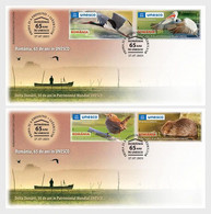 Romania Rumänien Delivery Within 4 Weeks MNH ** Ru 2021 - 205 65 Years In The UNESCO. Danube Delta, 30 Years In The UNES - Unused Stamps