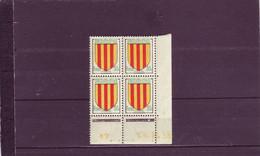 N° 1044 - 50c Comté De FOIX- B De A+B - 1° Tirage Du 25.10.55 Au 3.11.55 -  28.10.1955 - - 1950-1959