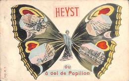 Heist - Heyst - Vu à Vol De Papillon Multi-vues Colorisée Gekleurd  Marco Marcovici) - Heist