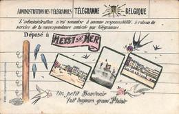 Heist - Heyst - Télégramme Multi-vues   Colorisée  Edit. Carpentier-Francotte Phototypie Marco Marcovici) - Heist