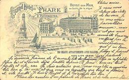 Heist - Heyst - Grand Hôtel Du Phare (L G Laurent 1901) - Heist