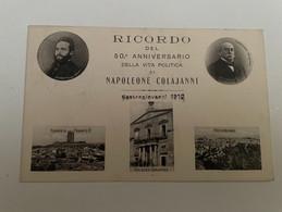 CASTROGIOVANNI RICORDO DEL 50' ANNIVERSARIO DI NAPOLEONE COLAJANNI - Caltanissetta