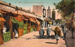 FES - FEZ (Maroc) - Grande Rue De Fez-Djédid - Très Bon état  - 2 Scans - Fez