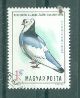 HONGRIE - 2090 Oblitéré. Exposition Internationale Du Pigeon, à Budapest. - Columbiformes