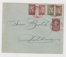 SLOVENIA,1920 SHS LJUBLJANA Nice  Cover Red Cancel - Slovenië