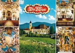 5 AK Germany Bayern * Die Wieskirche Bei Steingaden - Erbaut 1746 Bis 1754 - Seit 1983 UNESCO Weltkulturerbe * - Sonstige