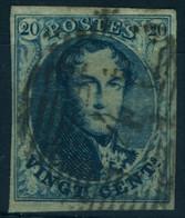 Belgique N°7 - Très Bon état - 1851-1857 Medaglioni (6/8)
