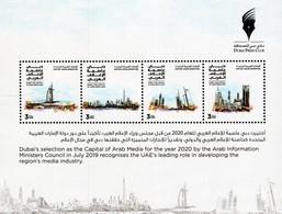 United Arab Emirates - 2020 - Dubai Capital Of Arab Media - Mint Stamp Sheetlet - Verenigde Arabische Emiraten