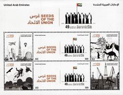 United Arab Emirates - 2020 - 49th National Day - Spirit Of The Union - Mint Stamp Sheetlet - Verenigde Arabische Emiraten