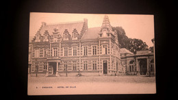 Enghien Hôtel De Ville  Scan Recto -verso - Enghien - Edingen
