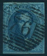 Belgique N°11 - Très Bon état - 1858-1862 Medaillons (9/12)