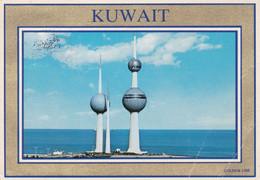 KUWAIT, GOLF STREET. CARTE POSTALE, CIRCULEE ANNEE 1993.- LILHU - Kuwait