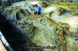 Carte Postale, Animaux Prehistoriques, Jurassic Dinosaurs, Lingwulong Shenqi - Andere