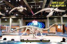 Carte Postale, Animaux Prehistoriques, Jurassic Dinosaurs, Lunfengosaurus Huenei - Andere