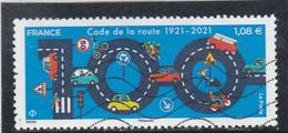 FRANCE 2021 CODE DE LA ROUTE OBLITERE - Used Stamps