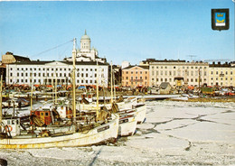 Helsinki:The South Harbour & The Market Square-Finland(Photo Tapia P.Tukiainen) - Finland