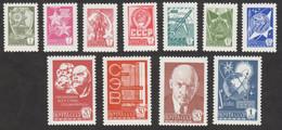 USSR (Russia) - Mi 4494-4500 4502-4505 - Definitive Issue - 1976 - MNH - Nuevos