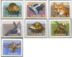 Ref. 77931 * MNH * - CANADA. 1988. BASIC SET . SERIE BASICA - Unused Stamps