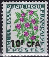 REUNION CFA Taxe 54 ** MNH Fleur Des Champs Pervenche - Postage Due