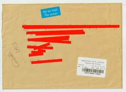 4412 Lettre Cover 2021 ILE MAURICE MAURITIUS By Air Mail Flacq Code Barre Bar - Mauritius (1968-...)