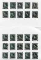 LEOPOLD III Zegels  2.45  Fr. - Restant Uit Studie - Zie Scans - - 1936-1951 Poortman