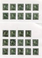 LEOPOLD III Zegels  2.50  Fr. - Restant Uit Studie - Zie Scans - - 1936-1951 Poortman