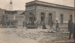 1913.México La Expendedora De Pulques.Edificio Dañado Durante La Decena Trágica Febreo De 1913 - Mexico