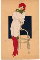 Cartolina - Illustratore, Aldo Bruno, Ragazza. - Unclassified
