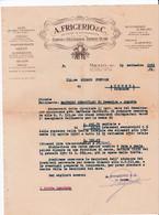 Milano A. Frigerio Cornici - Oleografie - Dipinti - Vetri Carta Intestata - Italia