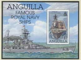 ANGUILLA / MiNr. Block 107 / Schiffe Der Royal Navy / Postfrisch / ** / MNH - Ships