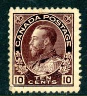 Canada MH 1911-25 - Unused Stamps