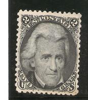 ESTADOS UNIDOS  YVERT 27 (*) Mng  2 Cents. Negro  1863/1866  NL1528 - Unused Stamps