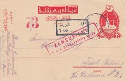 Österreich (Turkei) Postkarte Zensur 1914-18 - Storia Postale