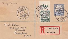 Deutsches Reich Kolonien Togo R Brief 1915 (Britische Besetzung) - Colony: Togo