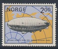"Norway Norge Norwegen 1979 Mi 800 YT 762 ** Airship No.1 ""Norge"" - Amundsen, Ellsworth And Nobile, 1926 - Voli Polari"