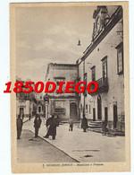 S. GIORGIO JONICO - MUNICIPIO E PRETURA  F/GRANDE VIAGGIATA 1957 ANIMATA - Taranto
