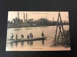 L'Auvergne Pittoresque - 2286 - Bac Sur L'Allier - Dest. 321e R.I 13e Cie Secteur Postal 161 - Auvergne Types D'Auvergne