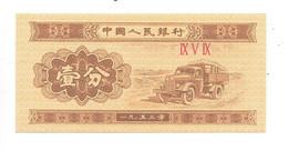 *china 1 Fen 1953  Km 860b - Chine