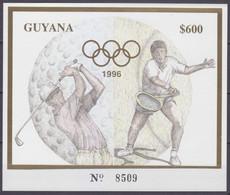 1993GuyanaB319b Gold1996 Olympic Games In Atlanta30,00 € - Verano 1996: Atlanta