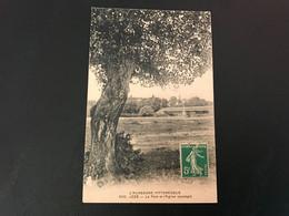 5132 - JOZE Le Pont Et L'Eglise (paysage) 1915 Timbrée - Andere Gemeenten