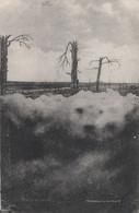 CARTE ALLEMANDE - GUERRE 14-18 - NUAGES DE GAZ AVANT L'ATTAQUE - Guerre 1914-18
