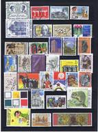Belgien, Belgium Lot 1 1980-1997, 2 Scans: 67 Versch. Gut Gestempelt / 67 Diff. Nicely Used - Collections