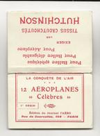 """D7 FRANCE 12 AEROPLANES """"CELEBRES"""" LE CONQUET DE L'AIR 12 X Fold Out Photos Of Early Aeroplanes SCARCE - Sin Clasificación"""