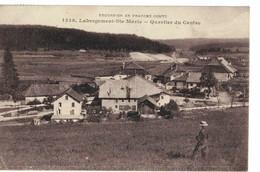 CPA  LABERGEMENT - ST-MARIE   Quartier Du Centre  N° 1539 - Andere Gemeenten
